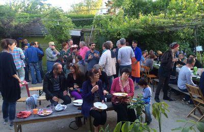 Nouvelles photos du jardin guinguette en fête ce dimanche 21 mai 2017