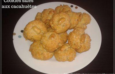 Cookies salés aux cacahuètes pour l'apéritif