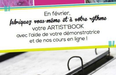Ne le ratez pas, le nouvel artist'book de scrap plaisir
