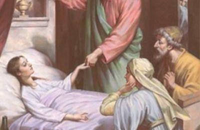 Jean le Messager d'Espérance :  L'onction des malades