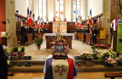 Obsèques du commandant (er) René JOLY