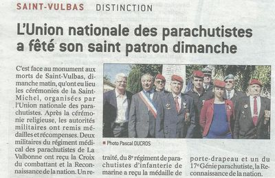 Dans la presse, Saint Michel 2017 section UNP 010