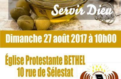 Séminaire de miracles et de guérison en Alsace le dimanche 27 août 2017, à partir de 10 h 00