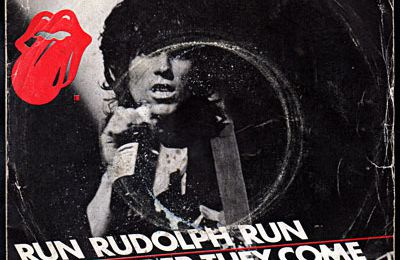 Keith Richards - Run Rudolph run b/w The harder they come - 1979