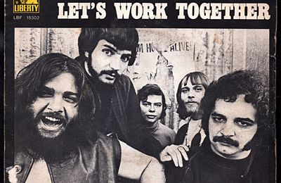 Canned heat - Lets work together  /  I'm her man - 1969