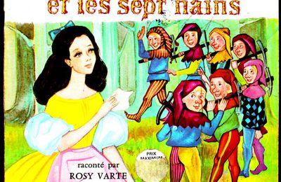 Blanche Neige et les sept nains raconté par Rosy Varte