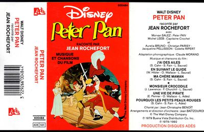 Peter Pan raconté par Jean Rochefort - 1979