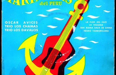 """Oscar Avilès y su conjunto """" Fiesta Criolla"""" - Marineras del Peru - 1958"""