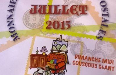 2ème édition 25 & 26.07.2015 - Exposition à St Just en Chevalet (42-Loire)
