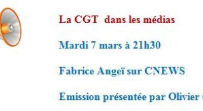 La CGT dans les médias