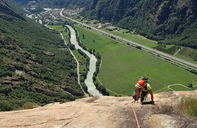 Escalade Machaby - Val d'Aoste