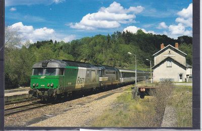 Locomotive diesel  série BB 67000