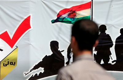 WWIII : Le référendum KURDE pour un ETAT KURDE en IRAK, dans le cadre du morcellement de l'IRAK et de la SYRIE, pour le Grand KURDISTAN et le Grand ISARËL, est une initiative des USA, qui veulent s'emparer des richesse en GAZ et PETROLE du MOYEN ORIENT. LES RUSSES Y SONT OPPOSES.