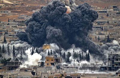 WWIII : La Coalition de l'Occident menée les USA en Syrie, fait tout sauf inquiéter DAESH. Selon Poutine, cela ne peut durer et cela justifie une bonne leçon aux Américains qui se garderont de riposter après que leur armée sera gravement touchée, et que le sol Américain, sera pour la première fois frappé, par des missiles dont personne ne revendiquera la paternité.