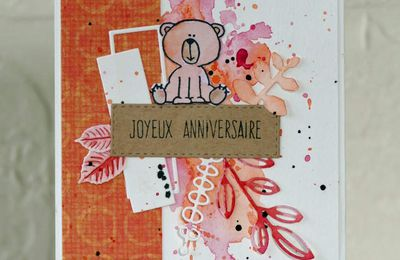 Scrap&Co - Défi lift carte Octobre 2017