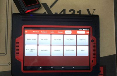 Car repair shop best choice-Launch X431 V 8'' Lenovo Tablet