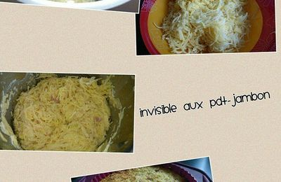 Invisible pdt - Jambon