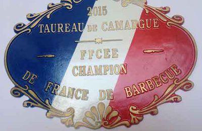 Primée au Championnat de France du barbecue 2015 !