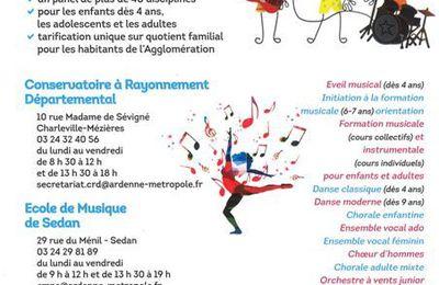 La Musique, La danse et le Chant avec Ardenne Métropole
