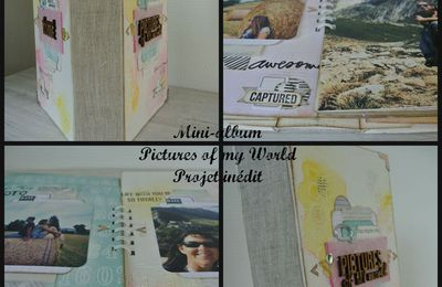 "Visuel mini-album ""Pictures of my world"""