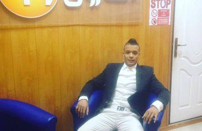 Notre jeune champion Redouane Lagha : invité d'honneur , ce matin à Chourouk TV