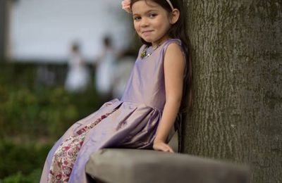 Couture pour un mariage : la tenue des enfants