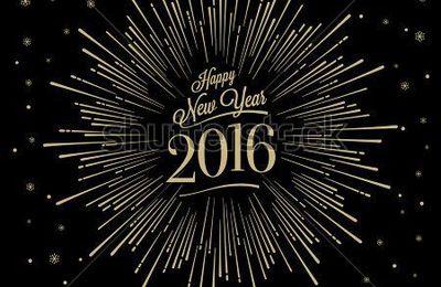 Au revoir 2015 .....Bonjour 2016..... Bonne Année  à tous !