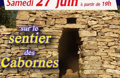 Samedi 27 juin, venez découvrir les cabornes !