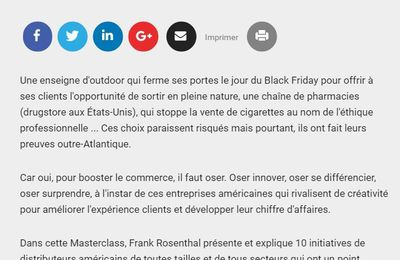 Des (nouvelles) idées inspirantes made in USA : Masterclass Booster le commerce