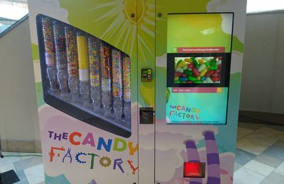 The Candy Factory : le distributeur automatique de bonbons