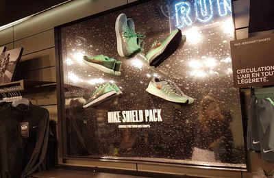 Nike lance et théâtralise fortement Nike Shield Pack
