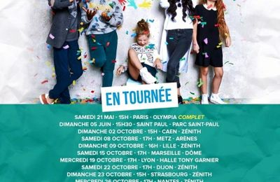 Kids United : N°1 des ventes en France