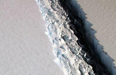 Un iceberg géant se détache du continent Antarctique