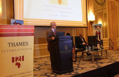 Thames International Conference in Cairo: Hosted under the patronage of Egyptian Ministry of Agriculture