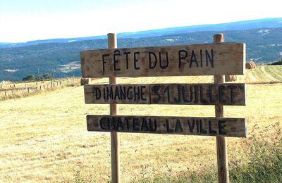 FÊTE DU PAIN 2016 A CHÂTEAU LA VILLE