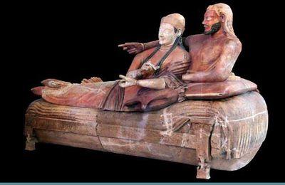 Les Étrusques au musée du Louvre. Mercredi 17 juillet 2013
