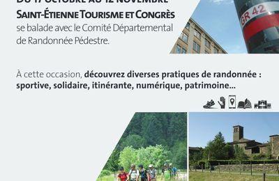 Saint-Etienne : la rando à l'office de tourisme...