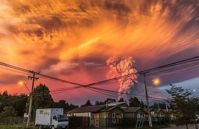 Eruption du volcan Calbuco au Chili - photos & video