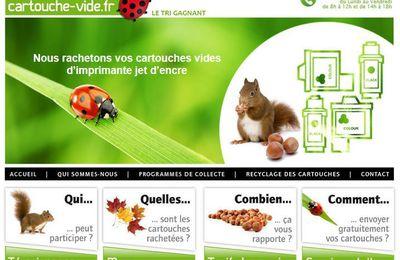Cartouche-Vide.fr rachète les cartouches vides d'imprimante jet d'encre