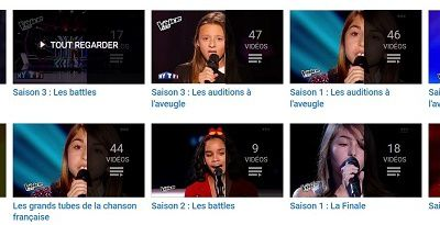 The Voice Kids France - Saisons 1 , 2 et 3 - Revoir en streaming