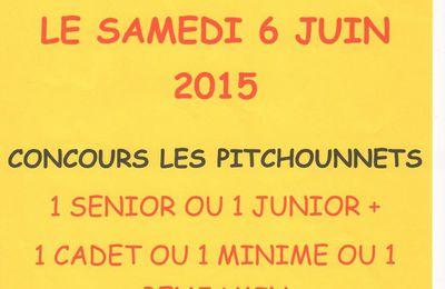 """LEGUEVIN (31): Concours Jeunes des """"PITCHOUNNETS"""""""