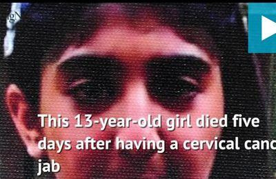 Cette adolescente de 13 ans décède 5 jours après avoir reçu le vaccin contre le HPV