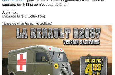 Collection-presse : Les véhicules militaires français au 1/43 (Direkt Collection)