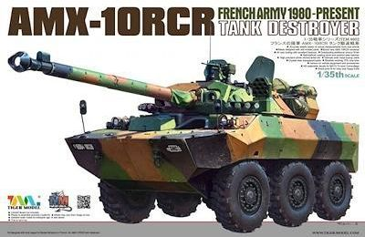 AMX-10 RCR et VBL au 1/35 (Tiger Model et kit KMT)
