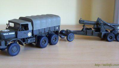 Mack NO tracteur d'artillerie au 1/48 (Hartsmith)