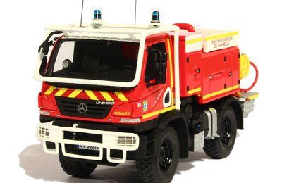 Mercedes Unimog U20 Gimaex Marins Pompiers Marseille au 1:43 (Alerte)