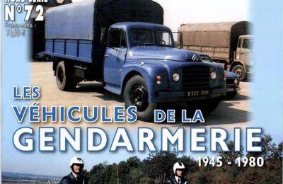 Motos de la Gendarmerie nationale (de Pascal Meunier chez ETAI)