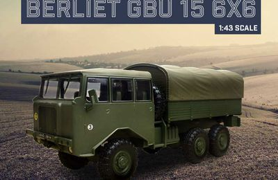 Berliet GBU 15 au 1/43 (Direkt-Collections/Ixo)