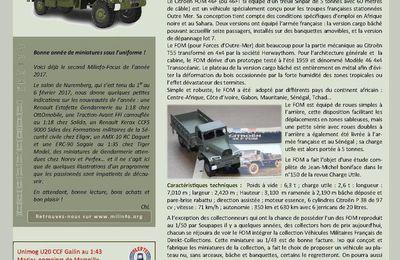 Milinfo-Focus n° 51 : le Citroën DOM (Direkt-Collections) et le Renault Master PC transmission (Perfex)