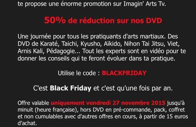 50% de réductions sur tous les DVDs Imagin'Arts 27 novembre